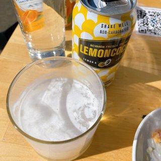 柠檬椰汁苏打水超好喝