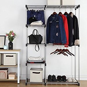 AmazonBasics Double Rod Freestanding Closet