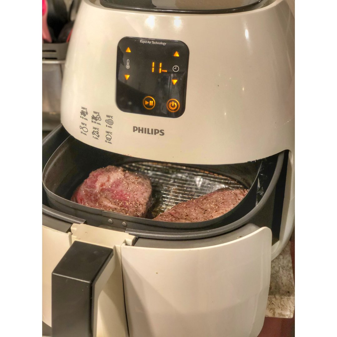 牛排也可以用空氣炸鍋