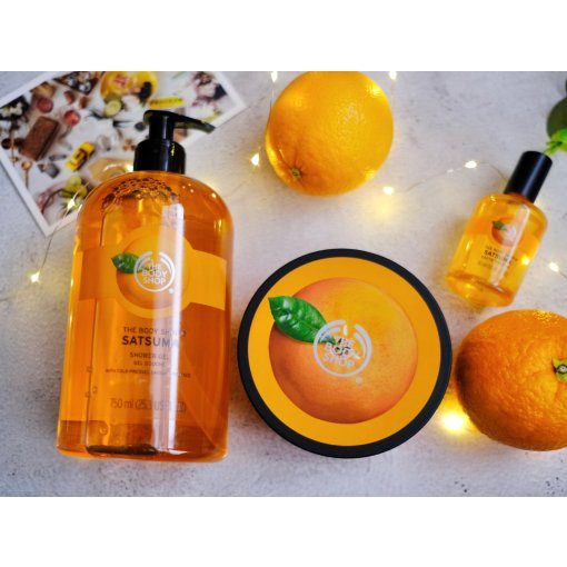 橘子味的 the body shop
