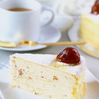 生日惊喜(撒金币啦🎊) Lady M节日限定栗子蛋糕