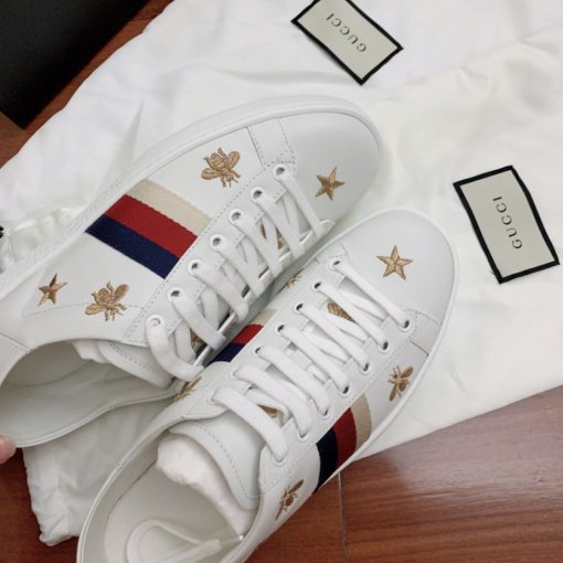 Gucci 小蜜蜂小白鞋