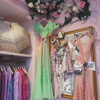 我理想中超美的复古清新甜美田园风服饰店❤...