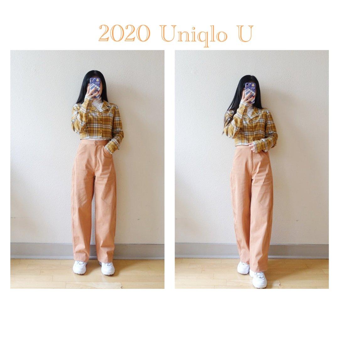 Uniqlo U 神裤试穿 | 奶...