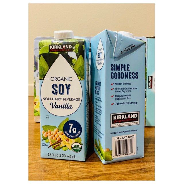 美食 Costco自有品牌豆奶