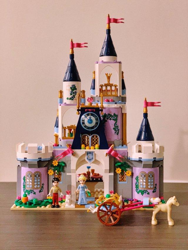 🎡𝙇𝙀𝙂𝙊|粉嫩迪士尼公主城堡🏰一...
