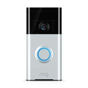$99 销量冠军 三色可选Ring 超智能可视化门铃, 可与移动设备连接