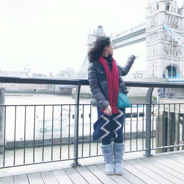 英国伦敦塔桥打卡!<br /> 伦...