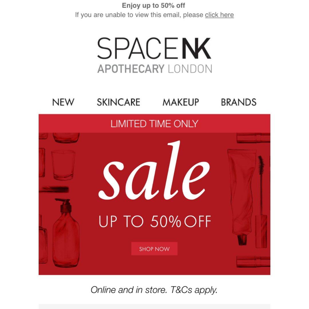 Spacenk 英国站sale