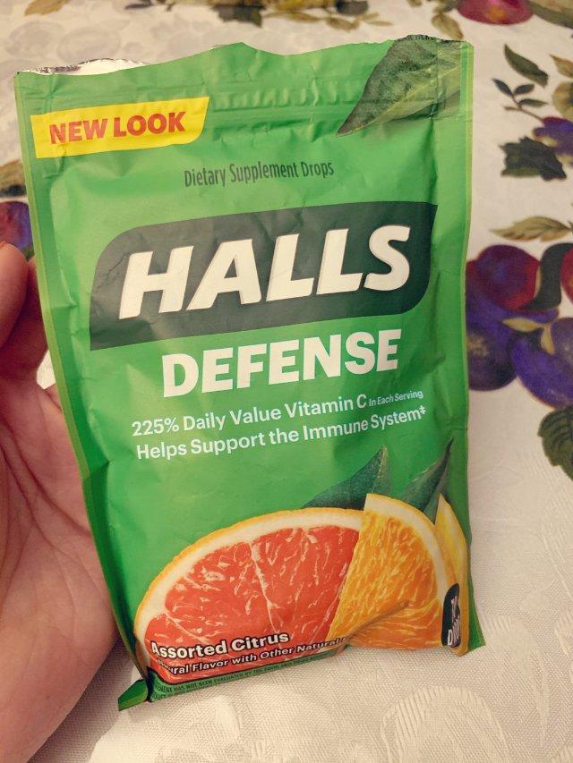 喉糖:Halls vs 川贝枇杷糖