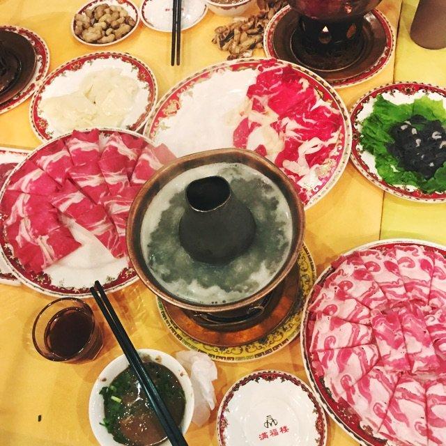 北京今天是最适合吃涮肉的天气! 福...