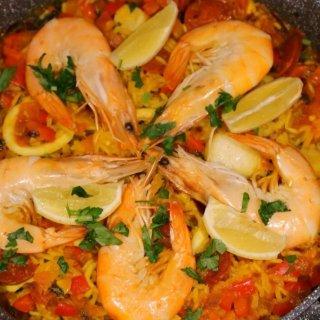自制西班牙🇪🇸海鲜烩饭...