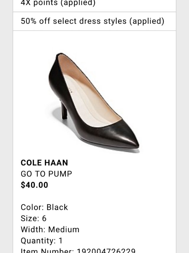 深夜下单3折Cole Haan