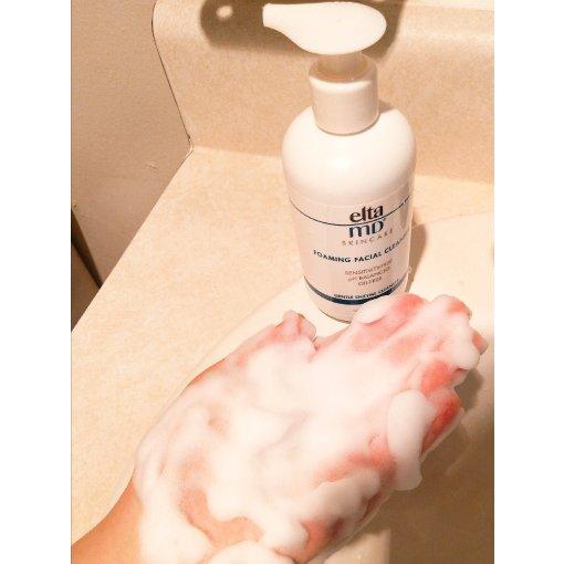 微众测 | Elta MD氨基酸泡沫洁面乳--混油敏感皮实测