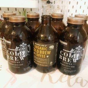 玻璃瓶装 冷萃无糖黑咖啡 11 oz 6瓶