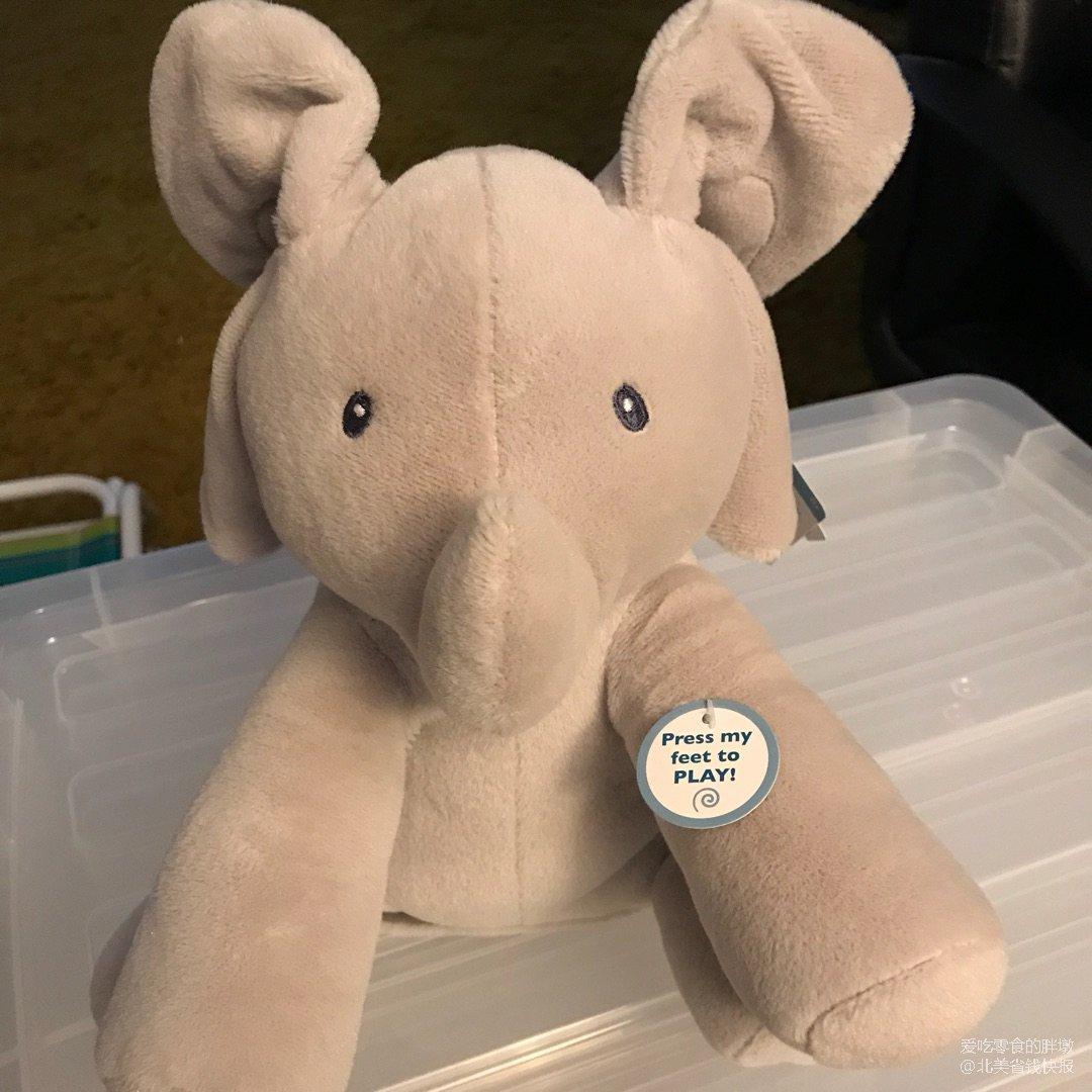 本来是给宝宝买的音乐小象,谁知道自...