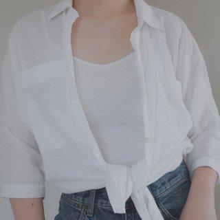 一字米酱的outfit|早秋衬衫帅气搭配...
