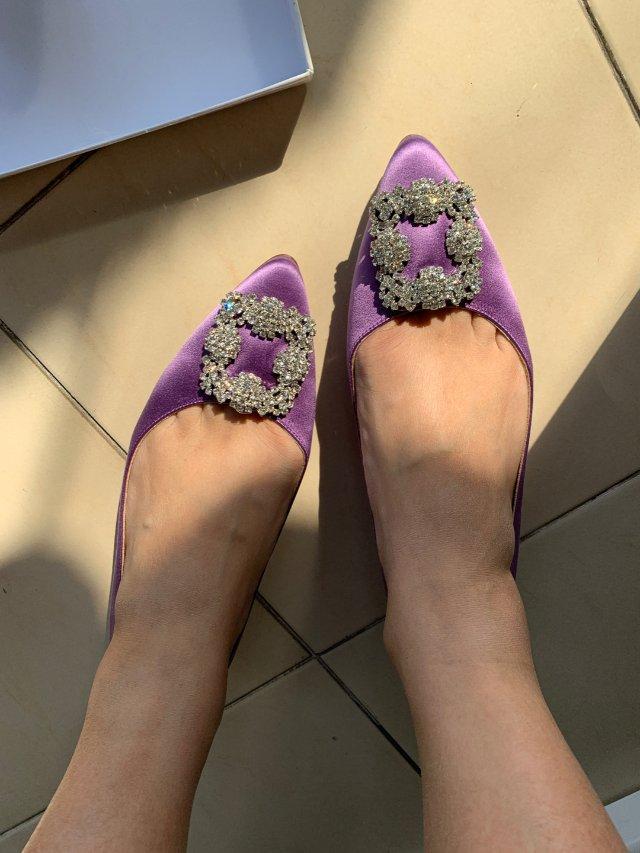 薰衣草紫色的白钻mb