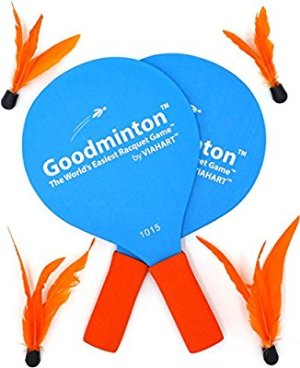 Amazon.com : Goodminton | The World's Easiest Racket Game | An Indoor Outdoor Year-Round Fun Racquet Game for Boys, Girls, and People of All Ages : Sports & Outdoors