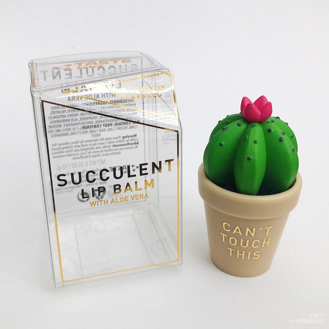 超可爱新品|仙人球造型润唇膏
