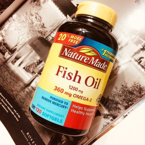 伴手礼买什么 Nature MadeFish Oil鱼油