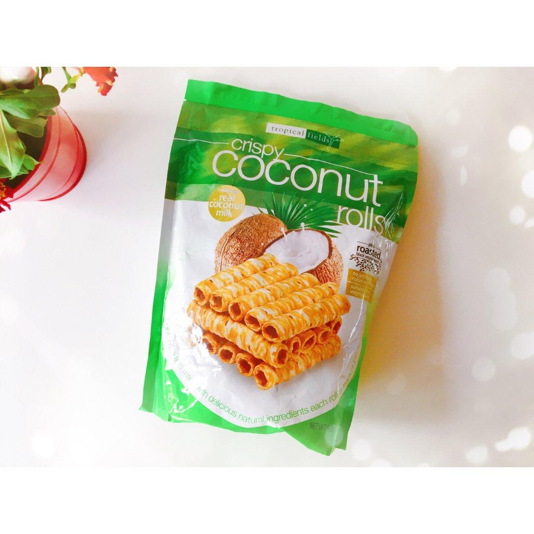 Tropical Fields,椰子卷,costco椰子卷,Costco购物清单