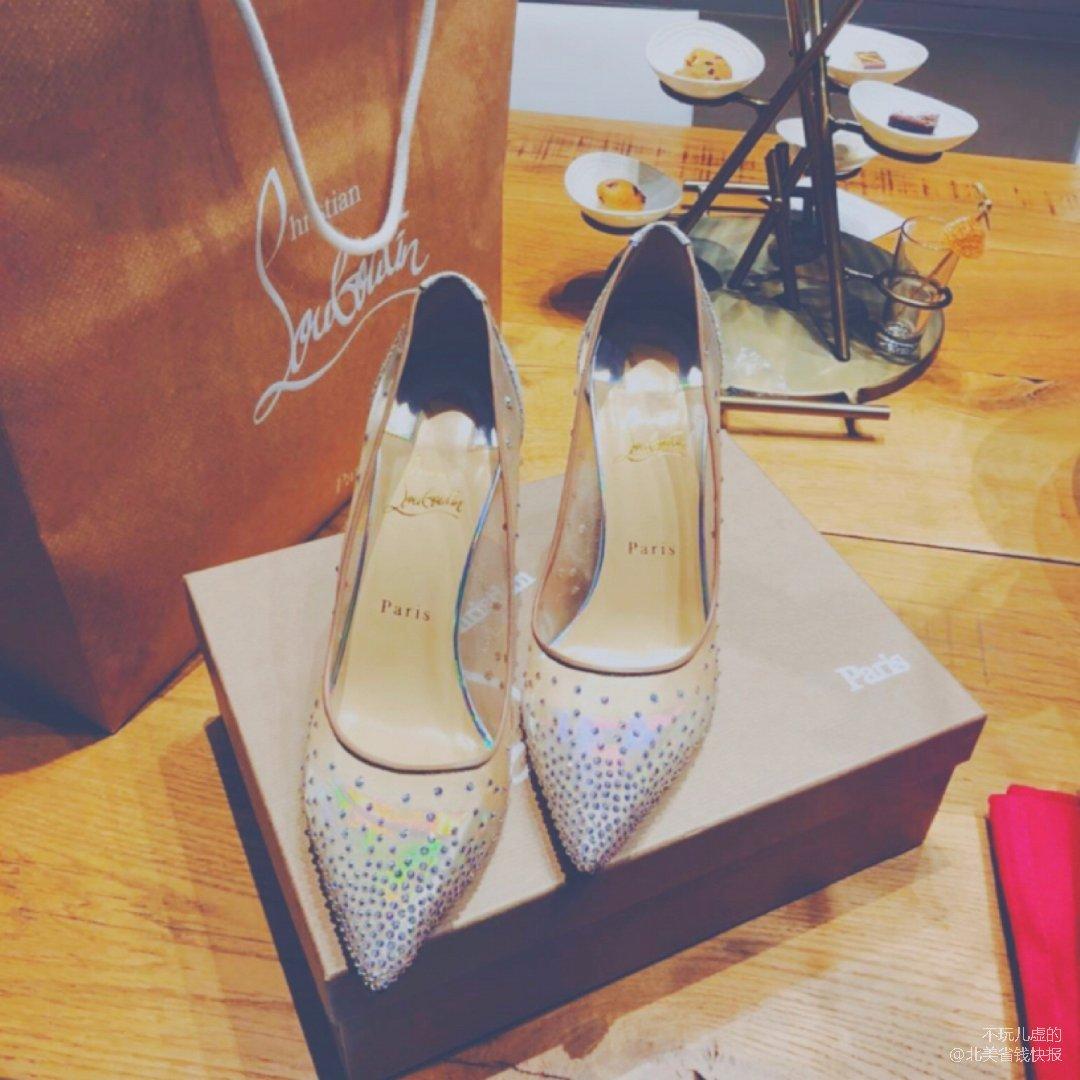 绝美✨红底鞋掉钻你们知道吗⁉️