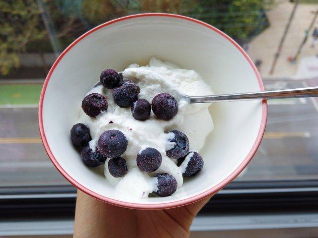 冰淇淋的季节过了,那在秋天来点酸奶吧!🥛