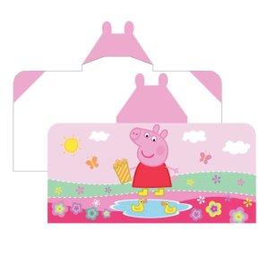 $24Peppa Pig Peppas Pond Hooded Bath Towel Wrap