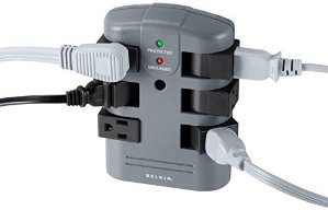 $14.07Belkin 6-Outlet Pivot-Plug Wall Mount Power Strip Surge Protector, 1080 Joules