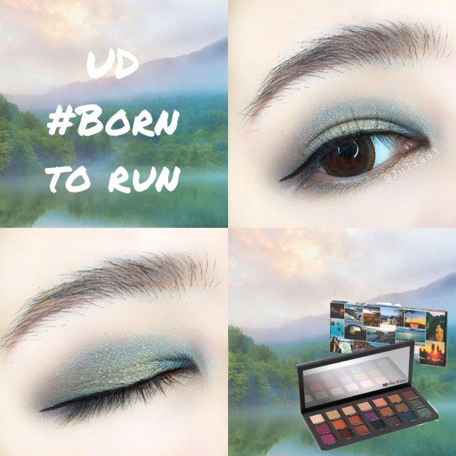 眼妆|UD Born to run...