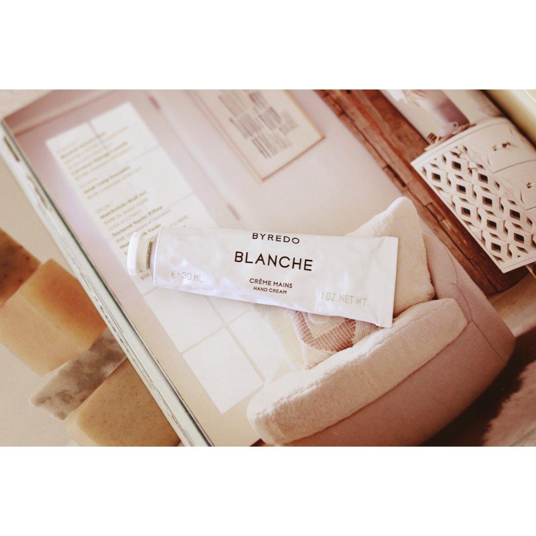 护肤 Byredo Blanche护手霜