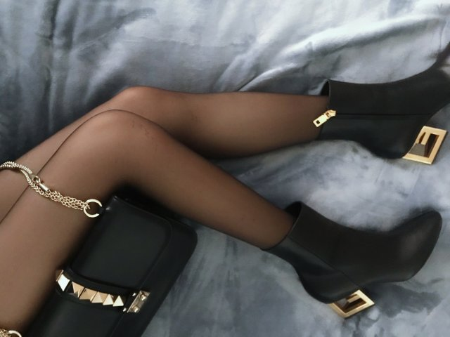 【黑金情缘】包包鞋子一个色DAY1