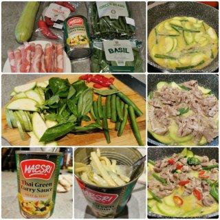 懒人法泰式绿咖喱牛肉...