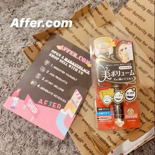 AFFER阿福购❥睫毛精美睫♡kiss me 睫毛膏
