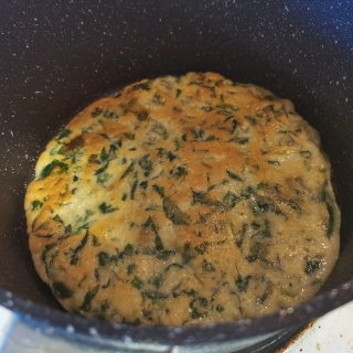 减脂菠菜饼