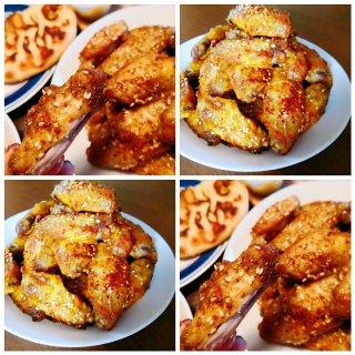 黄姜粉烤鸡翅