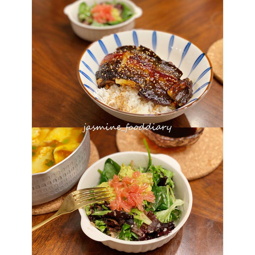 我的美食小记|日式鳗鱼饭...