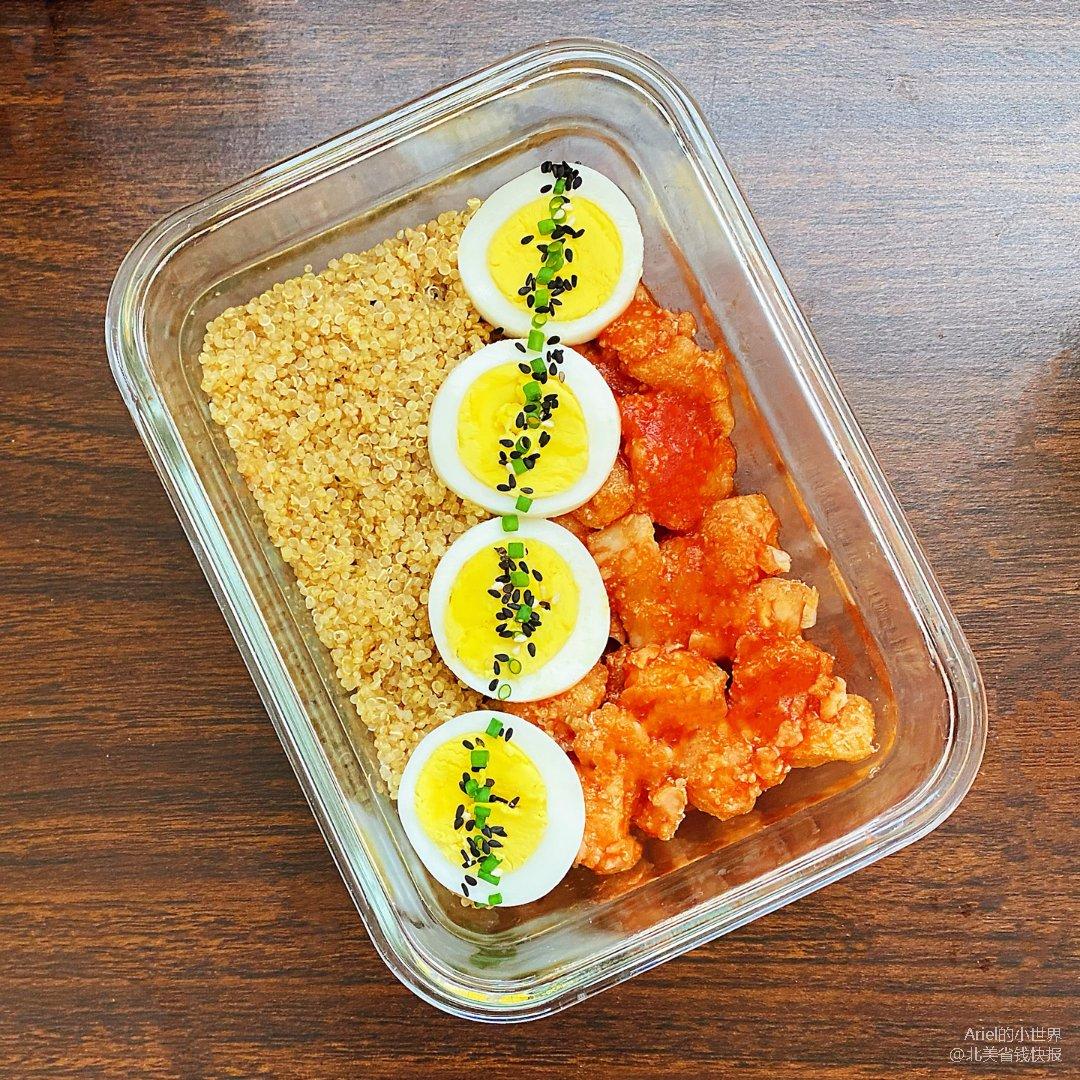 Ariel减肥餐119:番茄龙利鱼便当
