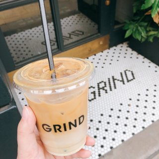 宅家打卡 买杯外带Grind回家喝...
