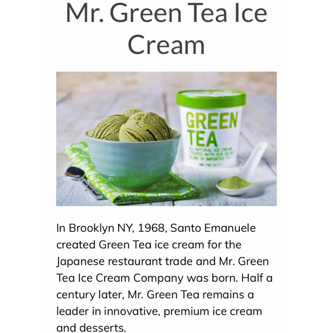 Mr. Green Tea Ice...
