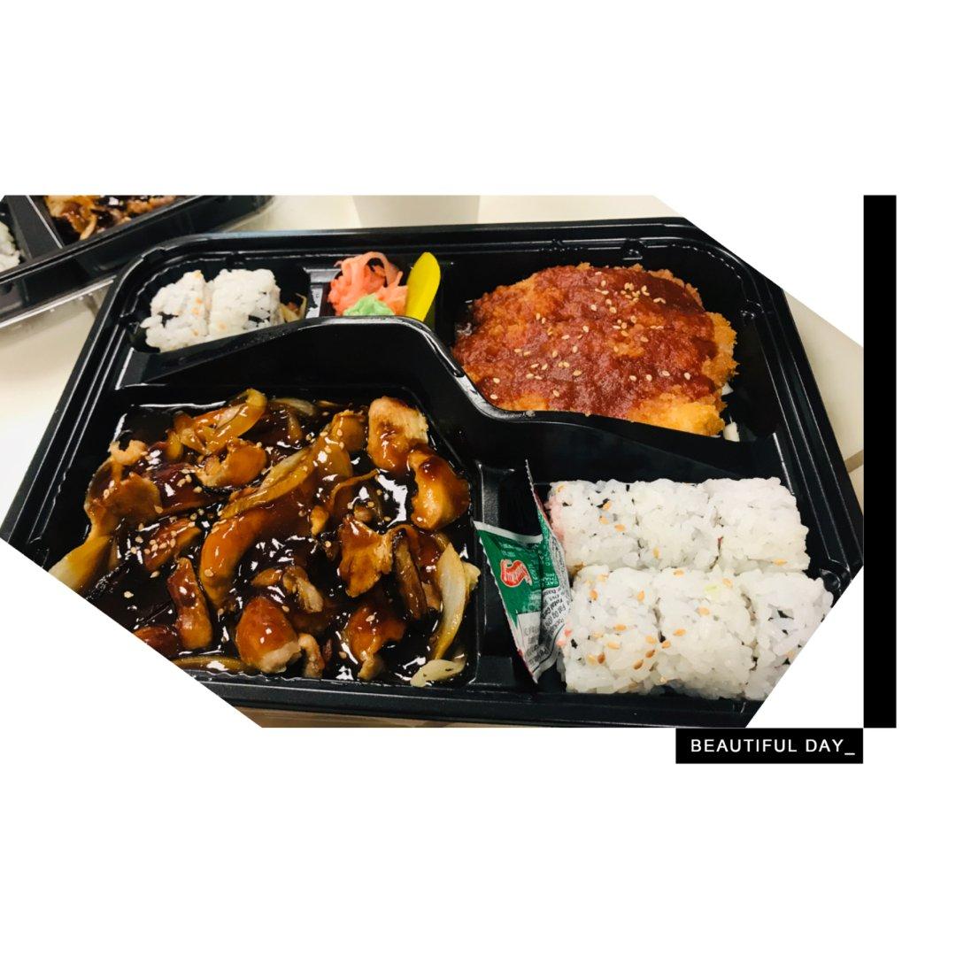午餐:Bento Box