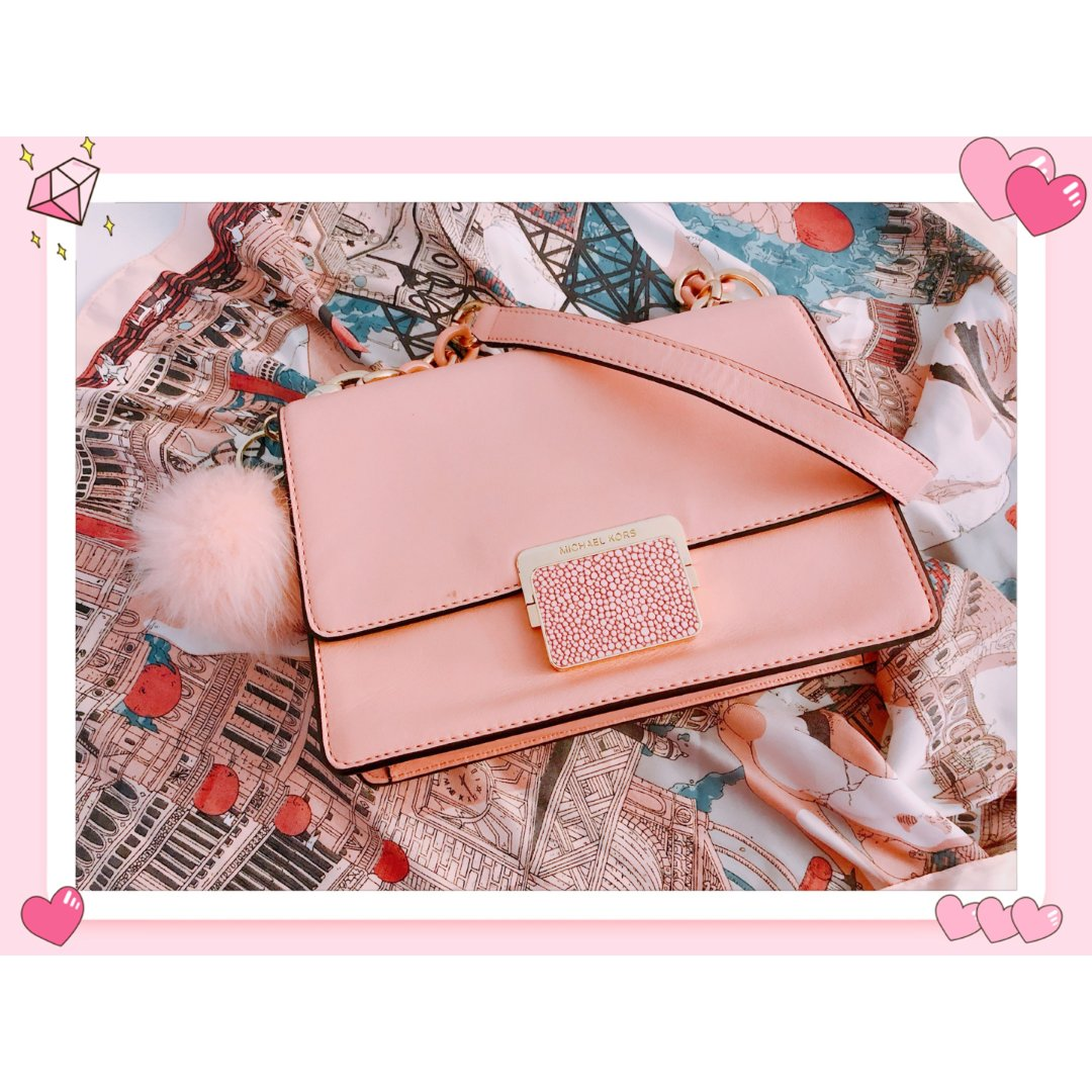 浪漫气息的粉色小方包 | 春天要粉粉哒