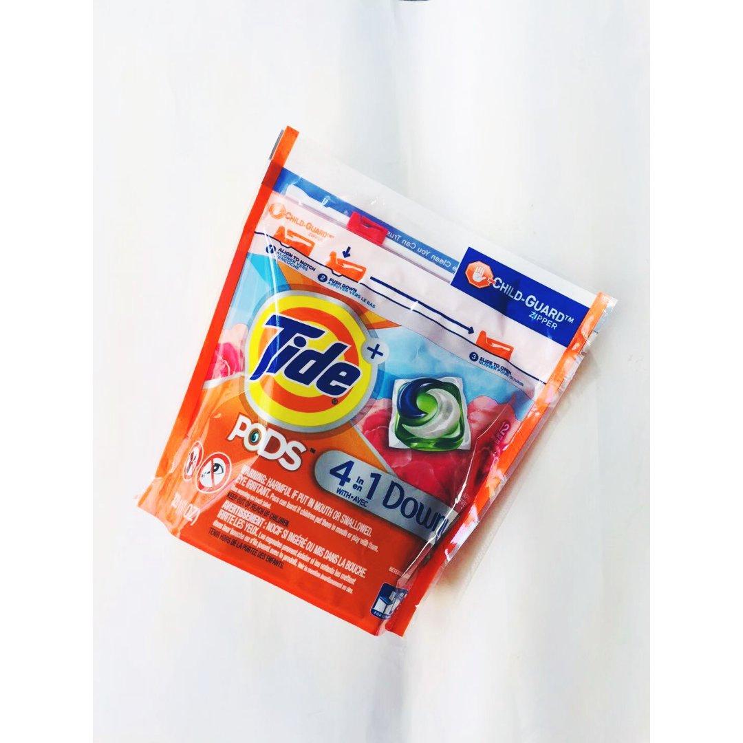 Tide 4合一洗衣球