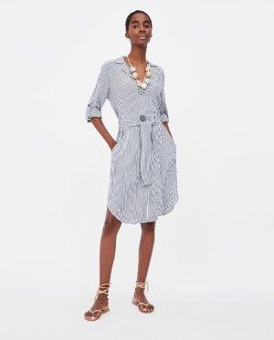 STRIPED SHIRT DRESS-Mini-DRESSES-WOMAN | ZARA United States