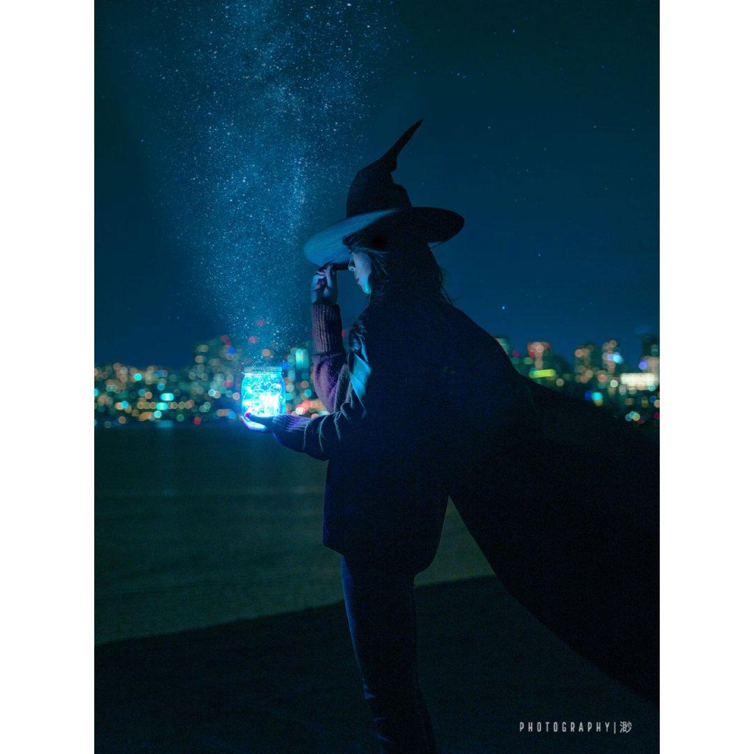 万圣节,一起进入我的魔法世界吧🧚🏻♀️