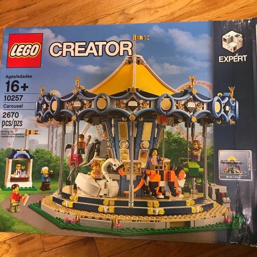 Lego 旋轉木馬
