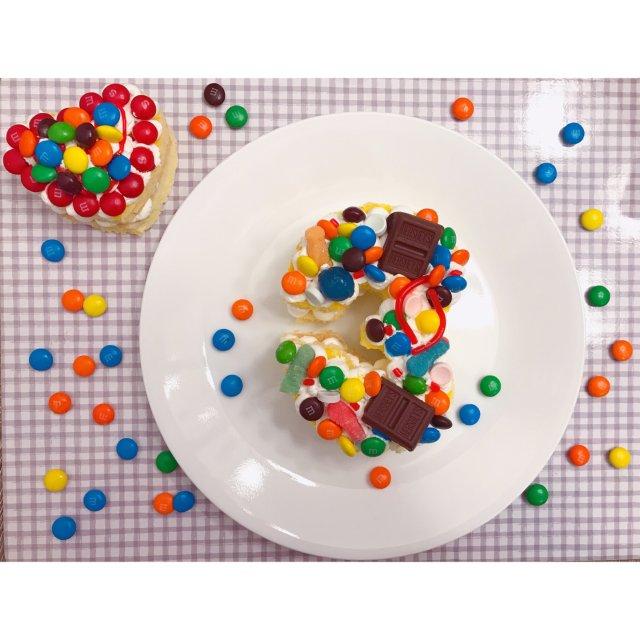 超简单的数字蛋糕