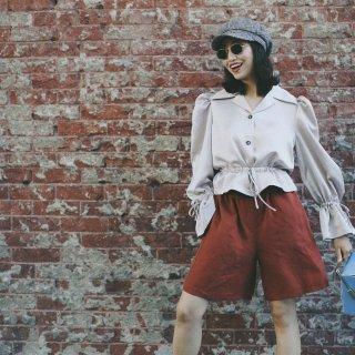 【穿上泡泡袖和短裤,做街上最靓的仔】