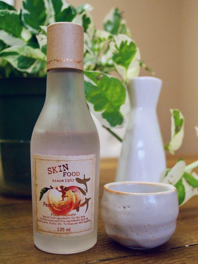 桃子日本酒爽肤水